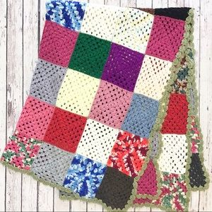 Other - GRANNY SQUARE Afghan throw blanket
